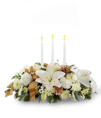 The FTD Season's Glow� Centerpiece