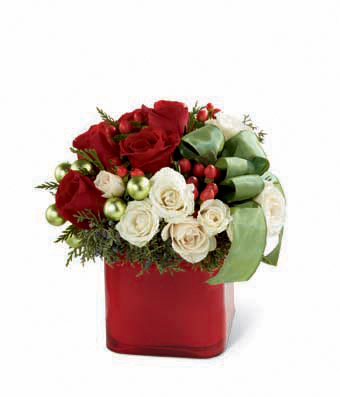 The FTD Merry & Bright� Bouquet