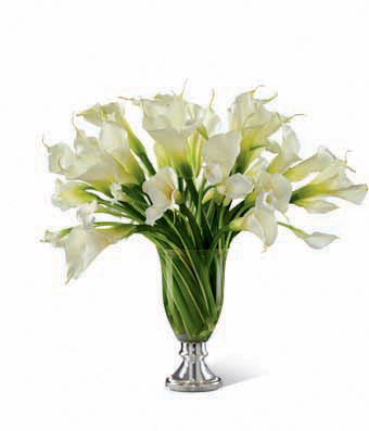 The FTD Musings� Luxury Calla Lily Bouquet by Vera Wang - 50 Stems