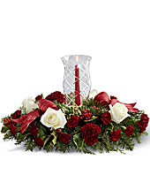 The FTD Holiday Wishes� Centerpiece