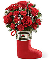 The FTD Celebrate the Season� Bouquet