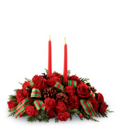 FTD Holiday Classics� Centerpiece by Better Homes and Gardens